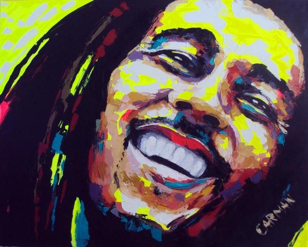 Bob Marley by carmanarte